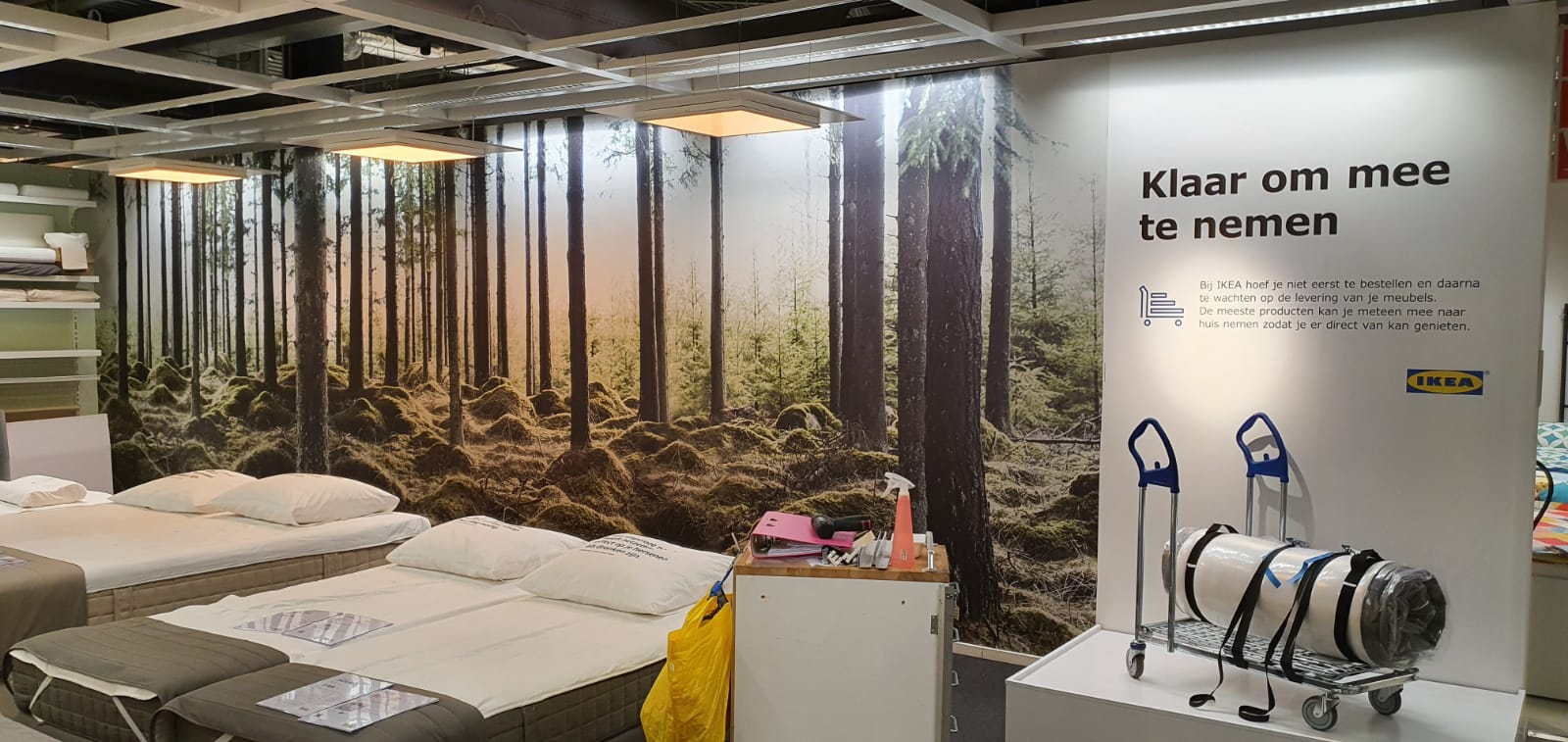 Airtex wand IKEA Utrecht