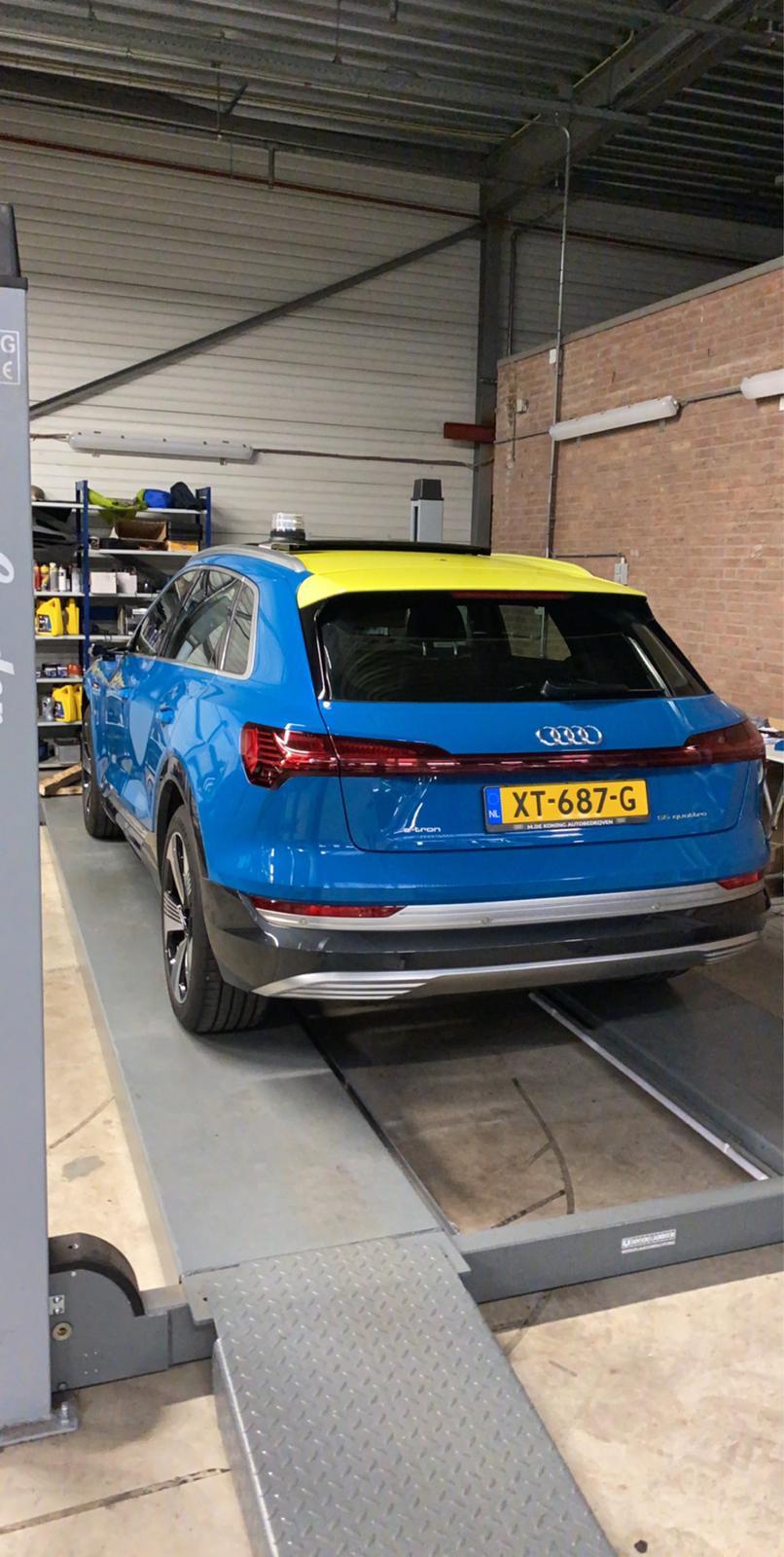 Audi wrap naar ambulance