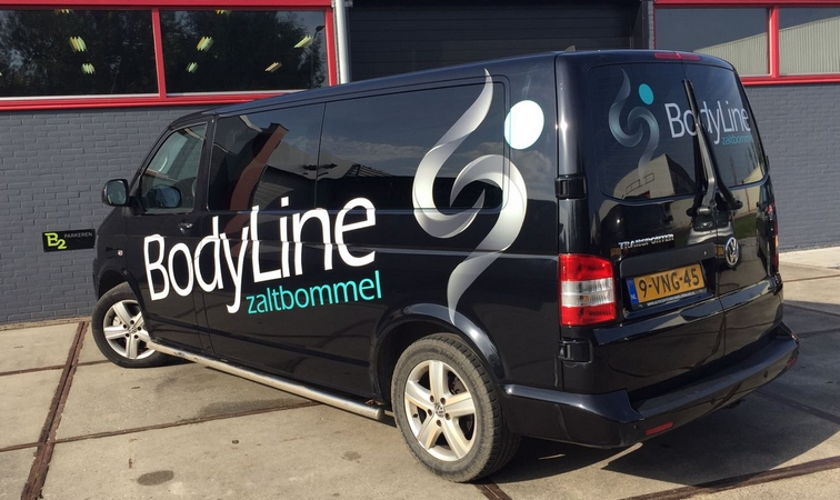 Bodyline bus belettering