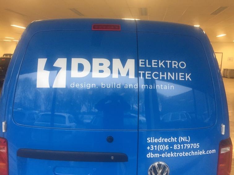 DBM belettering