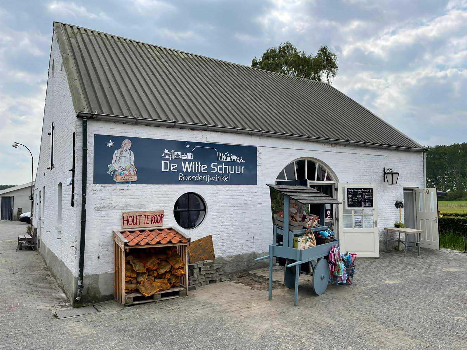 Diverse onderdelen voor de Witte Schuur in Culemborg