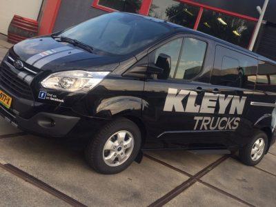 Kleyn trucks bus bellettering 1