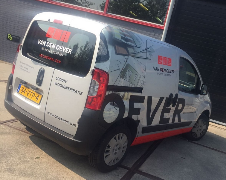 Oever auto bellettering