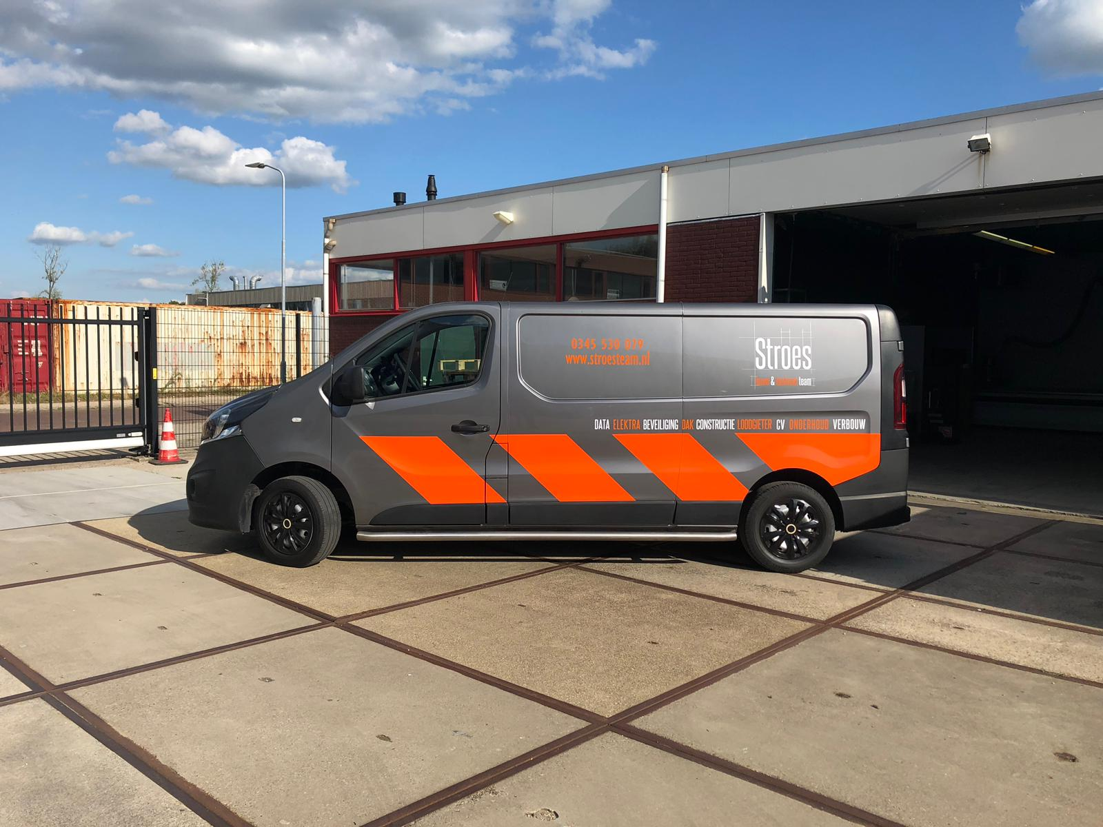 Auto belettering voor Stroes in Culemborg
