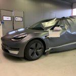Carwrap voor een Tesla