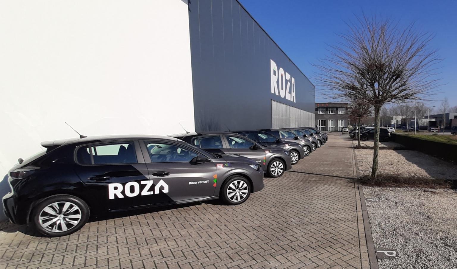 Wagenpark van Roza  Vastgoedonderhoud BV