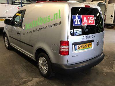 bestelbus.nl bus belettering 1