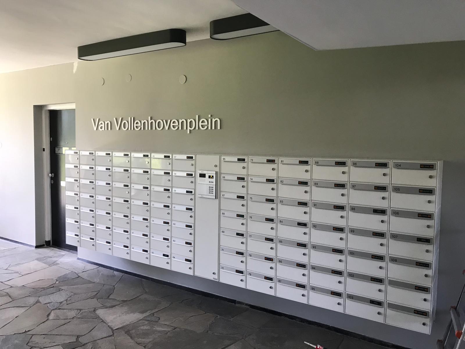 Freestekst Van Vollenhovenplein