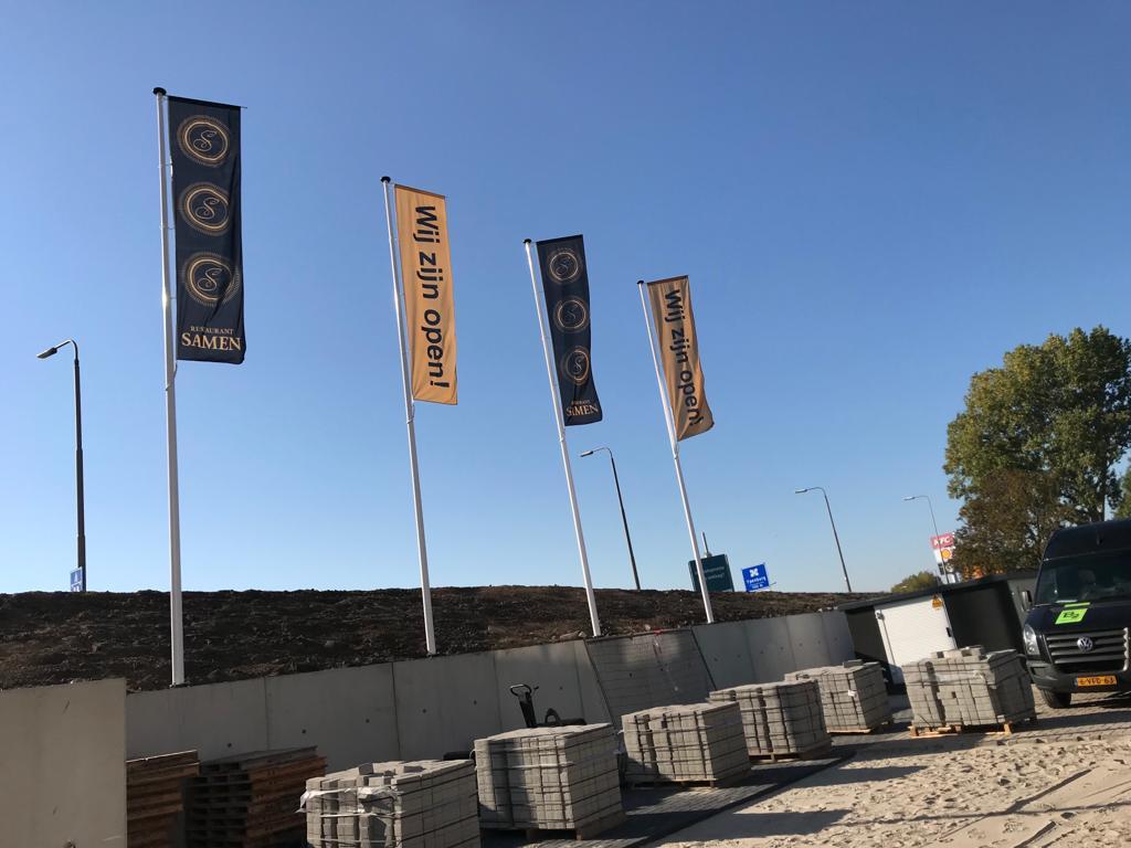 Vlaggen Wereld Restaurant Samen