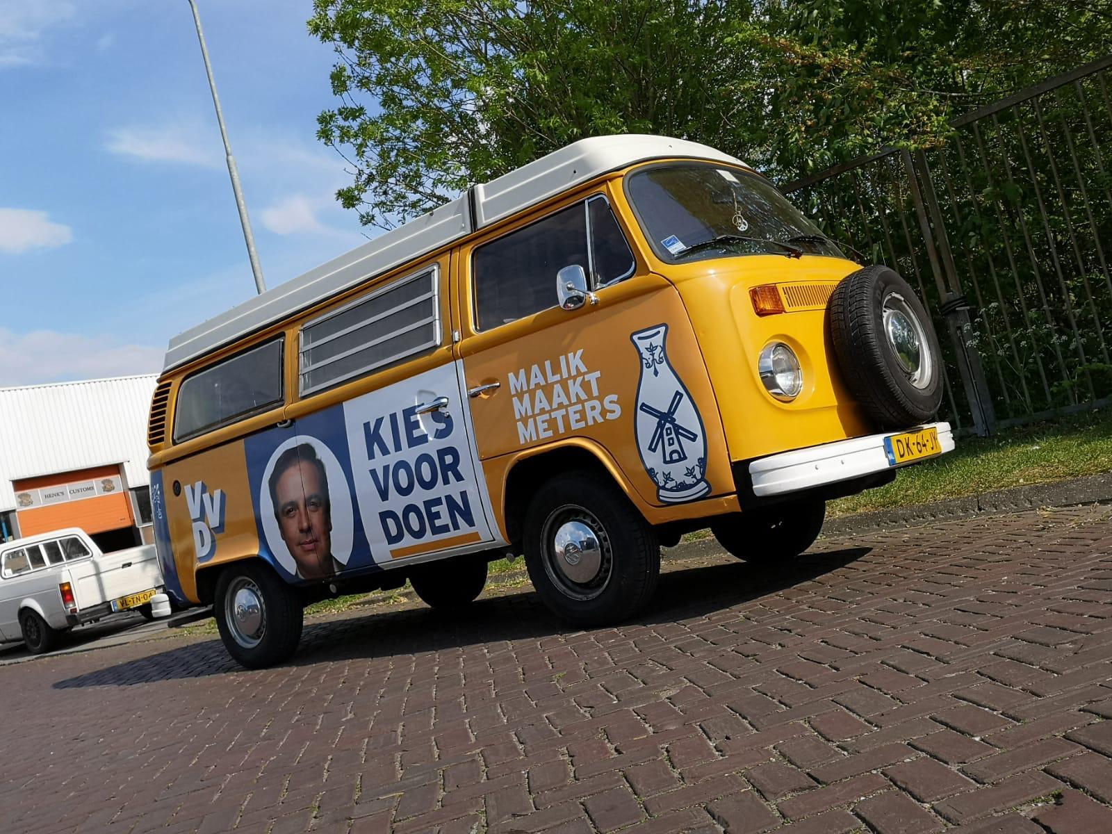VVD busje